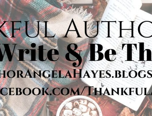 Thanksgiving for a Thankful Author